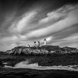 The Nubble Lighthouse by Mike Montalvo