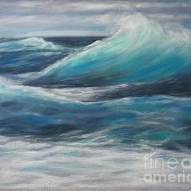 The Ocean's Push and Pull by Rose Mary Gates