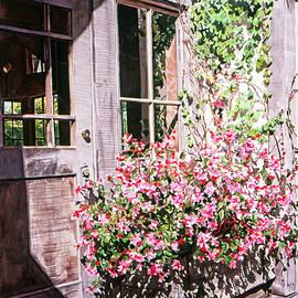 The Old Carmel Shop by David Lloyd Glover