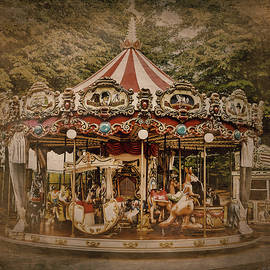 The Old Carousel by Stefano Menicagli