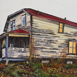The Old Quesnel Homestead by Marilyn McNish