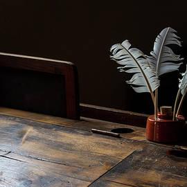 The Old School Desk by Eleanor Bortnick