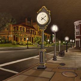 The Old Town Clock by Nathan Katz