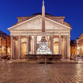 The Pantheon by night by Stefano Politi Markovina