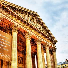 The Pantheon, Paris, France by Paul Thompson