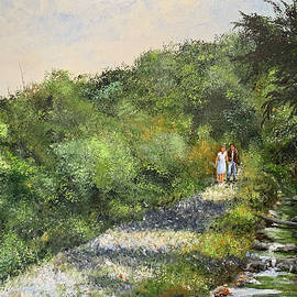 The Path Beside the Stream by Alan Lakin