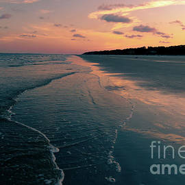 The Perfect Beach Sunset by Norma Brandsberg