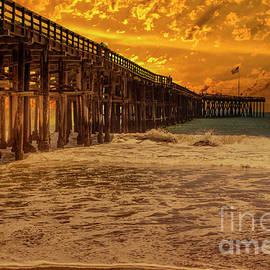 The Pier At Ventura  by Mitch Shindelbower