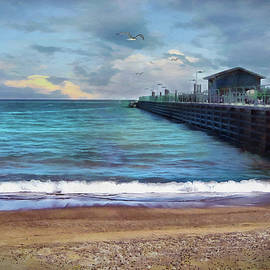 The Pier by Cedric Hampton