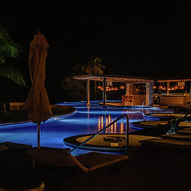 The Pool at Night by Andrew Wilson