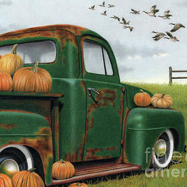 The Pumpkin Truck by Sarah Batalka