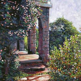 The Rear Garden by David Lloyd Glover