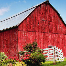 The Red Barn by Tatiana Travelways