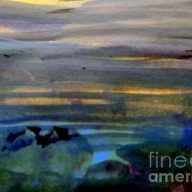 The River at Sunset by Nancy Kane Chapman