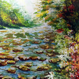 The River Watercolor by Asp Arts