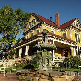 The Rivertown Inn Stillwater Minnesota Exterior Morning Light  by Wayne Moran