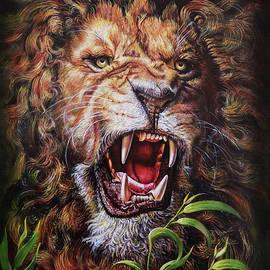 The Roar Of The Lion by Asp Arts
