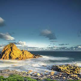 The Rock in the Ocean by Jan Fijolek