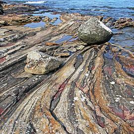 The Rock Of Wreck Island by Debbie Oppermann