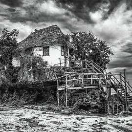 The Rock, Zanzibar black and white by Lyl Dil Creations