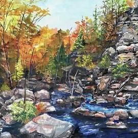 The Rocky Cliff by Nancy Rabe