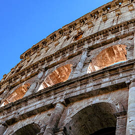The Roman Coliseum  by Andrew Cottrill