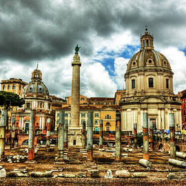 The Roman Forum, Rome by Paul Thompson