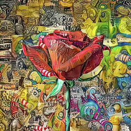 The Rose 1a by Stefano Menicagli
