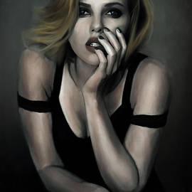 Scarlett Johansson by Art by SAINTIVAN