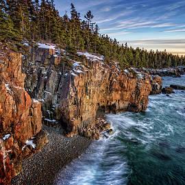 The Schoodic Shoreline by Rick Berk