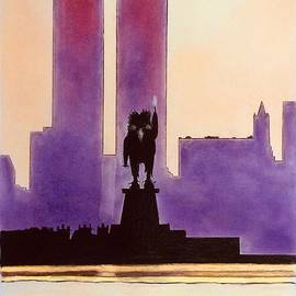 The Seeker in New York by Graham Wallwork