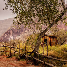 The Shack at Red Rocks by David Patterson