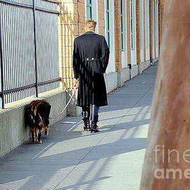The Shadow Striper's Dog Walk by Michael May