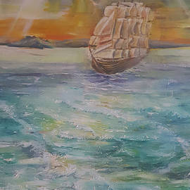The Ship is Coming II by Alla Savinkov