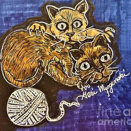 The Siamese Cat by Geraldine Myszenski