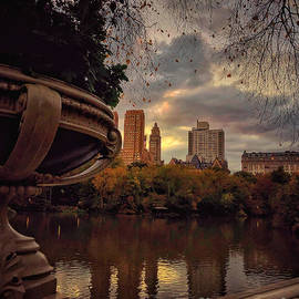 The Silver Lining - Central Park New York by Miriam Danar