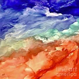 Churning Sea by Eunice Warfel