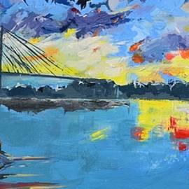 The Sky Dawn Day Dusk Prints by Shreya Sen