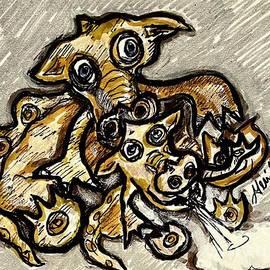 The Smoking Dragons by Geraldine Myszenski
