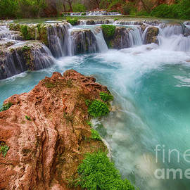 The Splendor Of Havasu Creek Arizona 5 by Bob Christopher