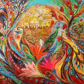 The spring song of Jerusalem by Elena Kotliarker