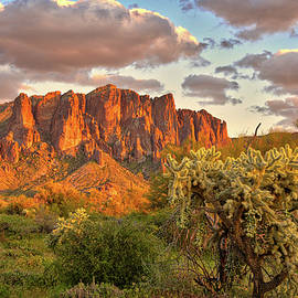 The Superstition Mountains by Chance Kafka