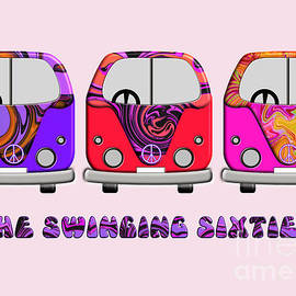 The Swinging Sixties by Barefoot Bodeez Art