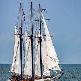 The Tall Ship Empire Sandy by Dale Kincaid