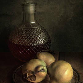 The taste of ripe pears by Jaroslaw Blaminsky