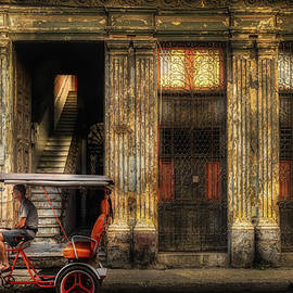 The taxi is waiting downstairs by Micah Offman