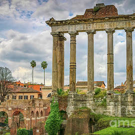 The Temple of Saturn by Viv Thompson