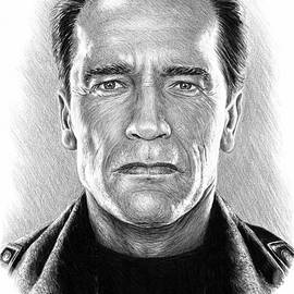 The Terminator  Arnold Schwarzenegger 1 by Andrew Read