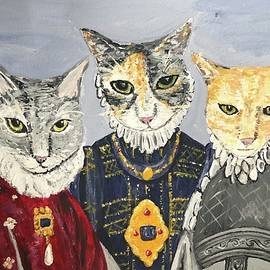 The Three Meowsketeers by Heather Burbridge