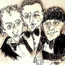 The Three Stooges by Geraldine Myszenski